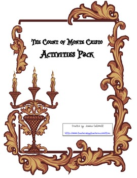 The Count of Monte Cristo Activity Pack