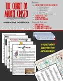 The Count of Monte Cristo Interactive Notebook - Appendix + Pre-reading activity