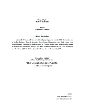 The Count of Monte Cristo 10 Chapter Reader