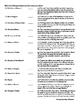 The Count of Monte Cristo Final Novel Test & Answer Key