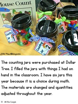 The Counting Jar Poster