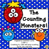 Counting to 1,000 - Skip Counting - The Counting Monster - Common Core 2.NBT.2