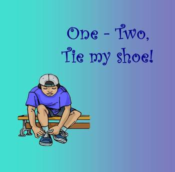 The Counting Song: One, Two, Tie My Shoe (PPT Edition)
