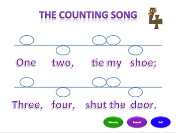 The Counting Song (ms) - Notation Pack