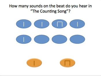 The Counting Song (ms) - Rhythm Pack