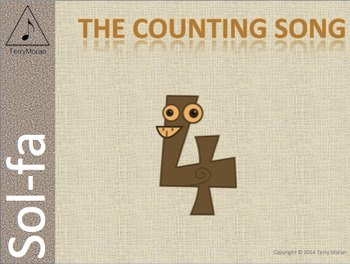 The Counting Song (ms) - Sol-fa Pack