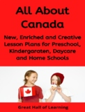 The Country of Canada Lesson Plans