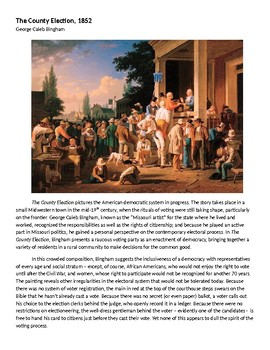 The County Election Painting Background Info & Analysis APUSH