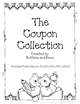The Coupon Collection (Including Money) // Reward Coupons and Koala Cash