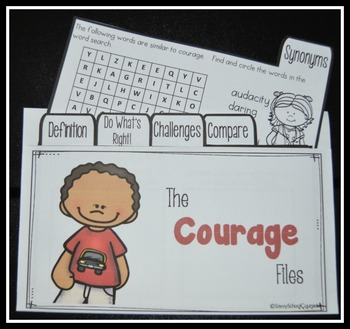 The Courage Files and Pamphlet