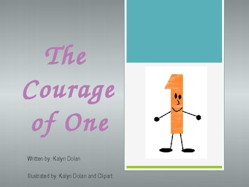 """""""The Courage of One"""" Original Book"""