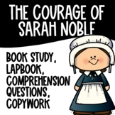 The Courage of Sarah Noble Lapbook and Comprehension Sheets