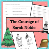The Courage of Sarah Noble Activity Guide