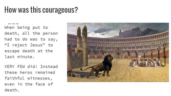 The Courage to be Christian: Catholic Church History 100-312 A.D.