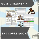 The Court Room Work Booklet of Student Activities and Worksheets