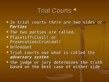 The Court Systems