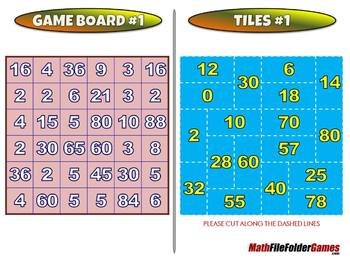The Cover Me Series (Cover Me 1,2,3 and 4) - 3rd Grade Math Game [CCSS 3.OA.D.8]