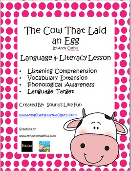 Language and Literacy Lesson: The Cow That Laid an Egg