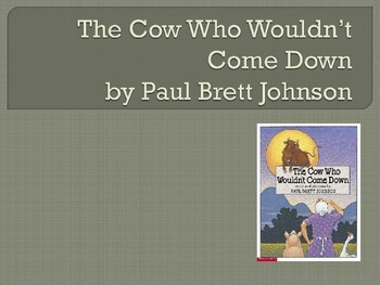 The Cow Who Wouldn't Come Down, Collaborative Conversations, Text Talk