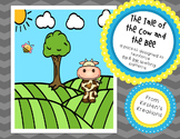 The Cow and the Bee - a packet designed to reinforce ou and ow spelling patterns