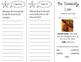 The Cowardly Lion Trifold - Open Court 2nd Grade Unit 1 Getting Started