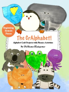 The CrAlphabet! 26 Alphabet Craft Projects with Phonics Activities