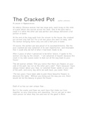 """""""The Cracked Pot"""" Lesson & Story"""