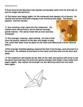 The Crane Reading Assessment