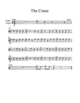 The Crane for Percussion Ensemble