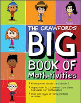 Interactive Math Activities Teaching Book - All Common Core Standards Covered