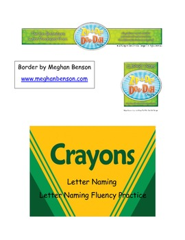The Crayon Box - Letter Naming and Letter Naming Fluency