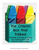 The Crayon Box That Talked Activity Pack