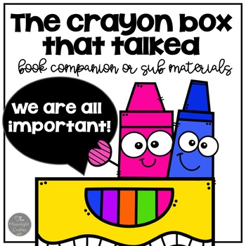 The Crayon Box That Talked Book Companion