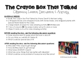 The Crayon Box That Talked - COMPLETE LESSON & ACTIVITY