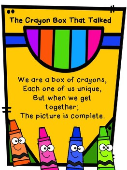 The Crayon Box That Talked Class Book