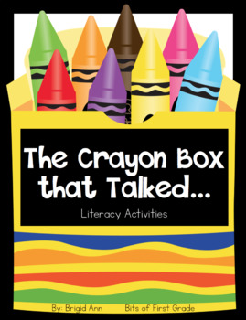 The Crayon Box That Talked - Literacy Activities