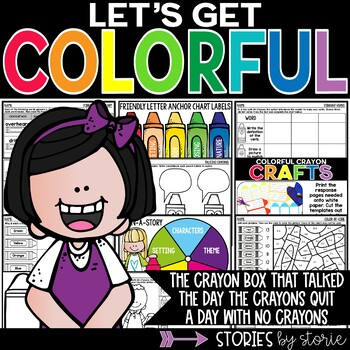 The Crayon Box That Talked, The Day the Crayons Quit, and A Day with No Crayons