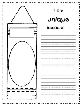 The Crayon Box That Talked Writing Page