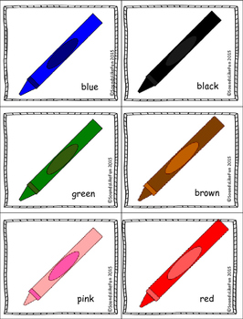 Language and Literacy Lesson: The Crayon Box that Talked
