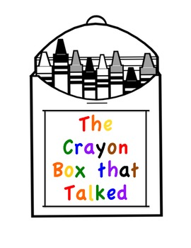 The Crayon Box that Talked Activities