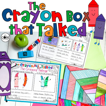 The Crayon Box that Talked Lesson Plans and Activities