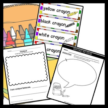 The Crayon Box that Talked Story Unit