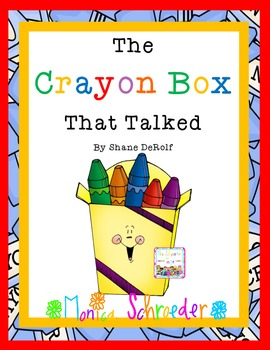 Back to School: The Crayon Box the Talked Book Study