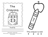 "The Crayon Sight Word Book for ""is"""