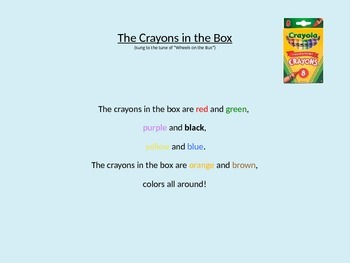 The Crayons in the Box