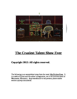 """The Craziest Talent Show Ever, A Short Story"" New Book Trailer"