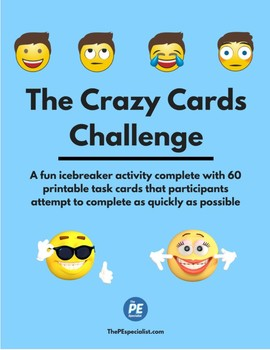 The Crazy Cards Challenge |Icebreaker, Cooperative Activity|