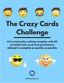 The Crazy Cards Challenge | Icebreaker, Cooperative Team Building Activity |