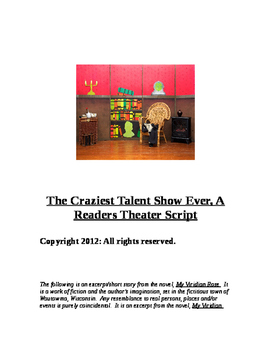 """""""The Crazy Talent Show (A Reader's Theater Script)"""" New Book Trailer"""