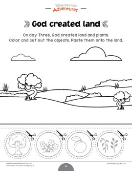 The Creation Activity Book for Kids Ages 3-5